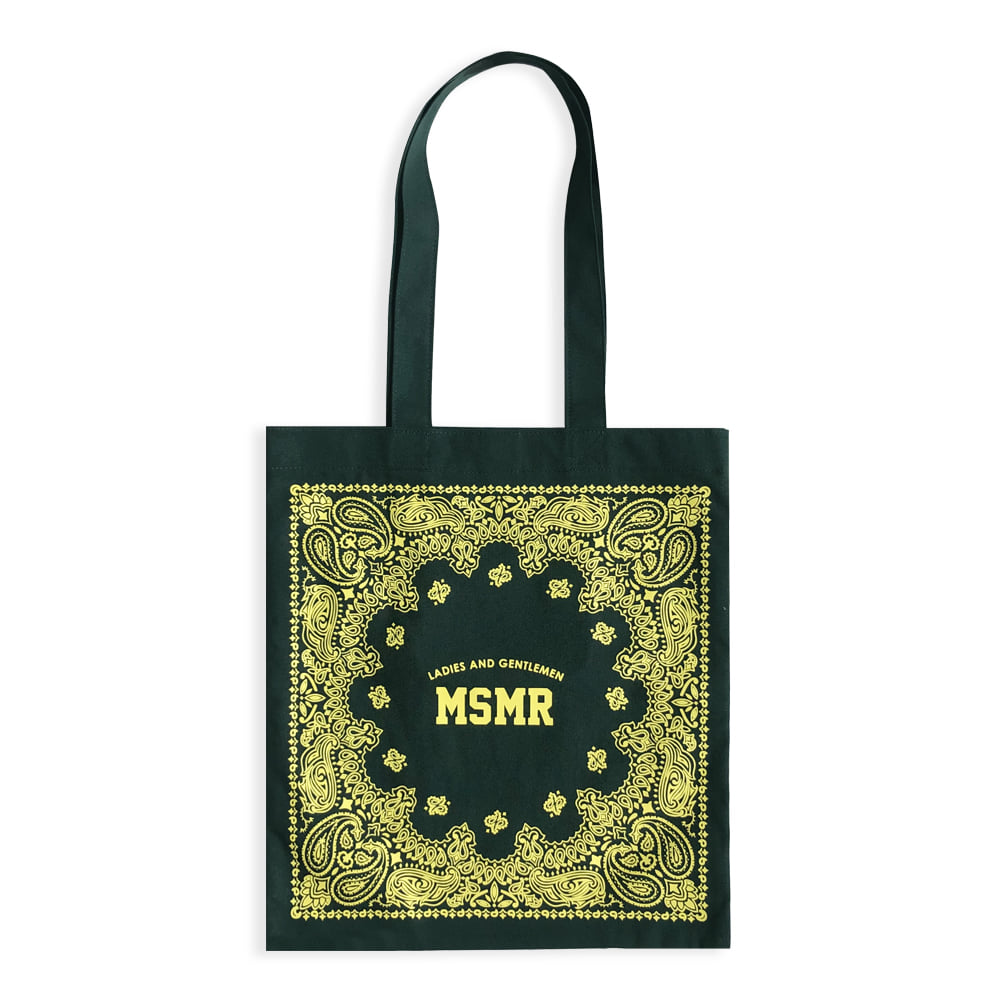 MSMR Paisely Bag Green