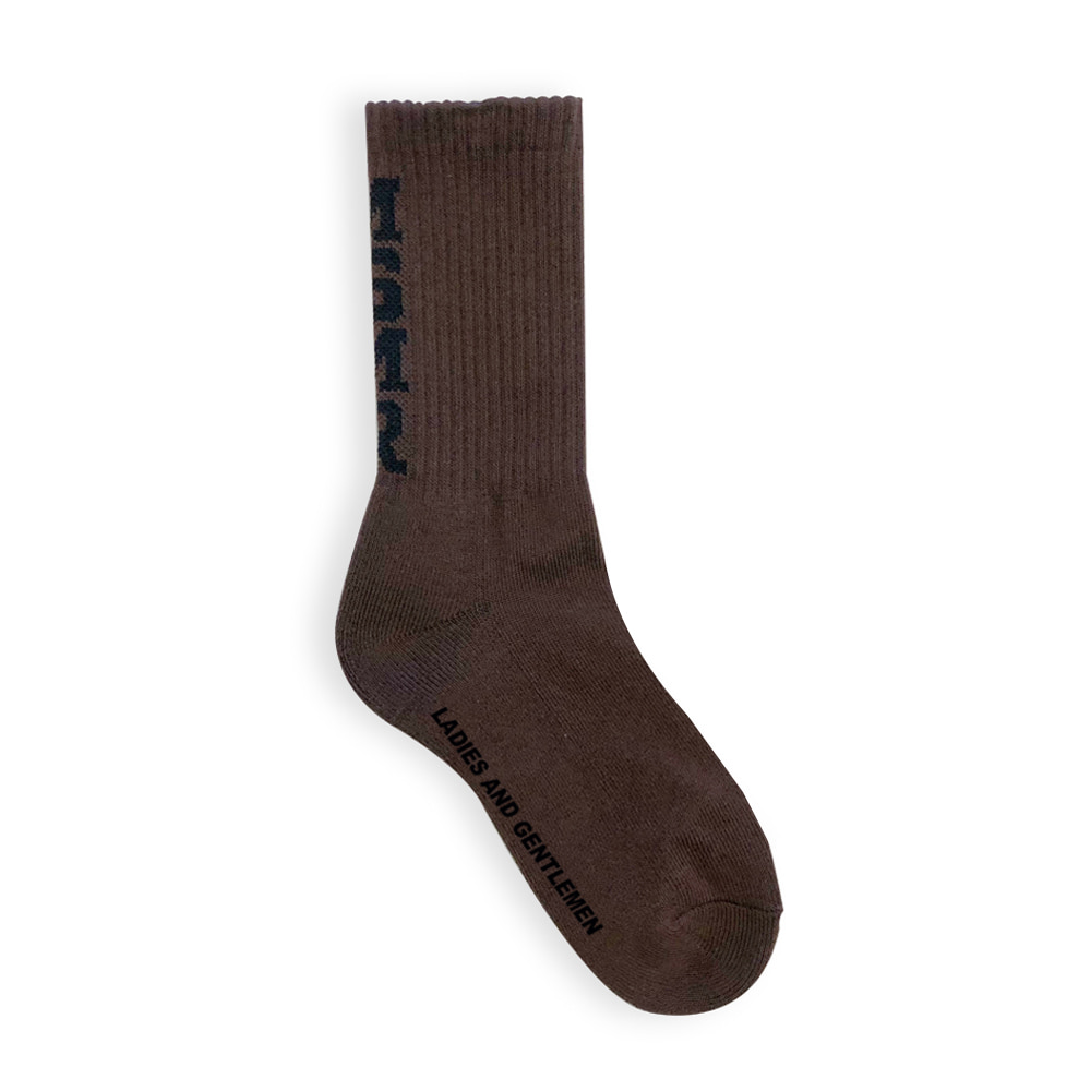 MSMR Vivid Socks Brown