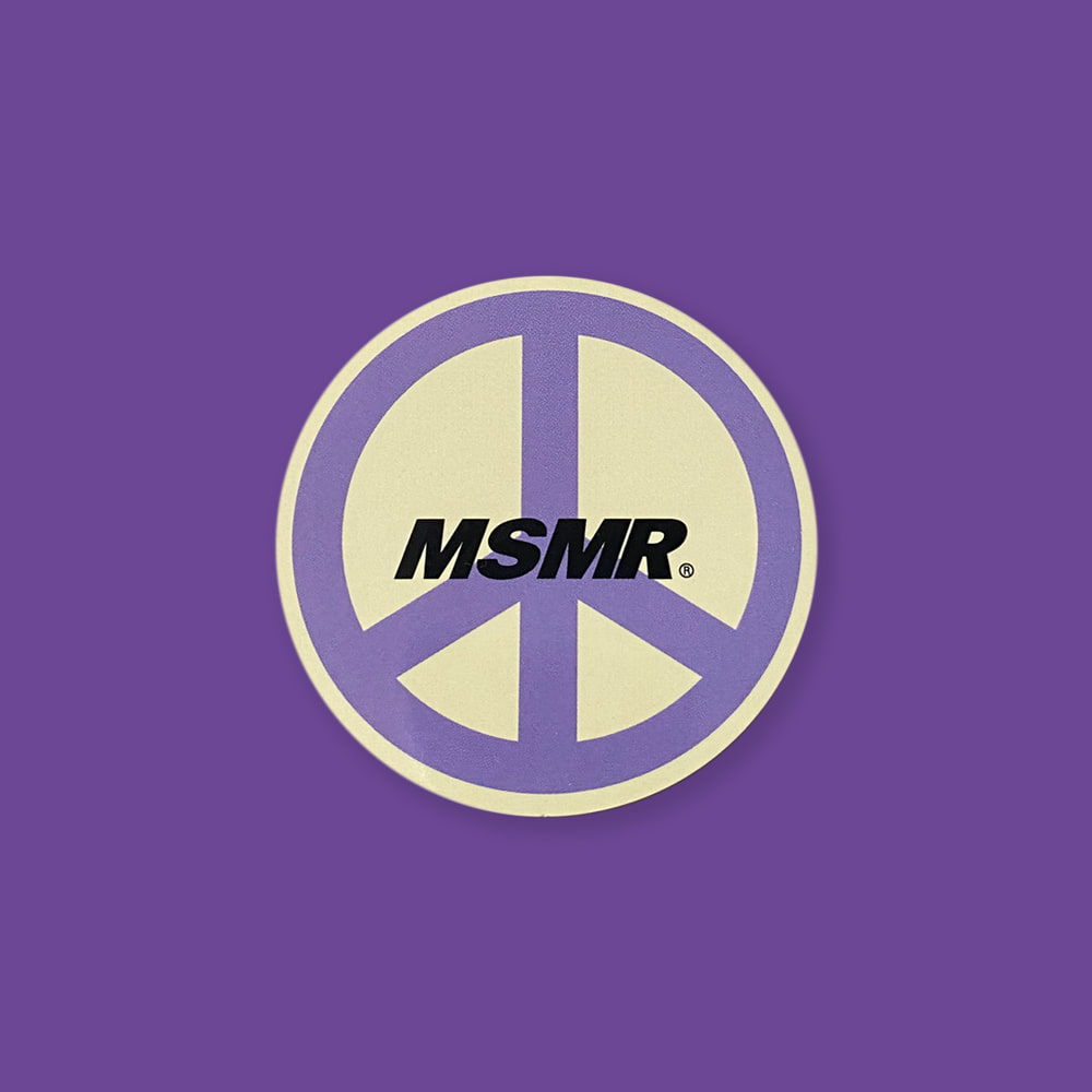 MSMR Peace Sticker
