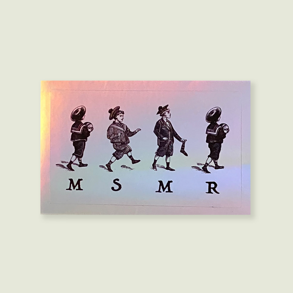 MSMR Hologram Boys Sticker